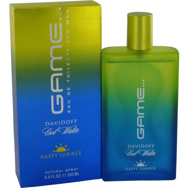 Davidoff Cool Water Game Happy Summer For Men edt 100ml tester