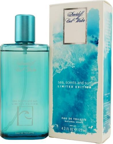 Davidoff Cool Water Sea Scent and Sun for men edt 125ml