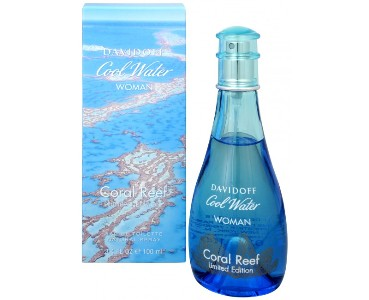 Davidoff Cool Water Woman Coral Reef edt 100ml tester