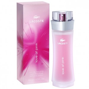 Lacoste Love Of Pink lady edt 50 ml