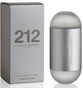 Carolina Herrera 212 lady edt 60 ml