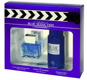 Antonio Banderas Blue Seduction men (edt 50ml+deo 150ml)